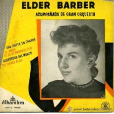 Discos de vinilo: ELDER BARBER. Lote 34504968