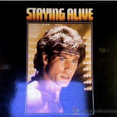 Discos de vinilo: STAYING ALIVE-BEE GEES . Lote 34508937