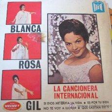 Discos de vinilo: BLANCA ROSA GIL - SELLO HIT. Lote 34509037