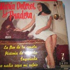 Discos de vinilo: MARIA DOLORES PRADERA- LA FLOR DE LA CANELA. Lote 34509268