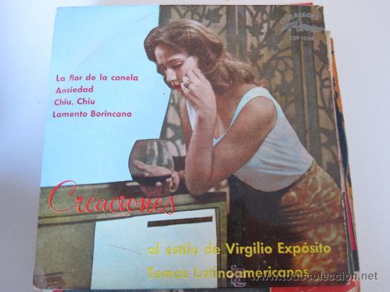 VIRGILIO EXPOSITO EP CUBALIBRE ED.ESPAÑOLA (Música - Discos de Vinilo - EPs - Grupos y Solistas de latinoamérica)