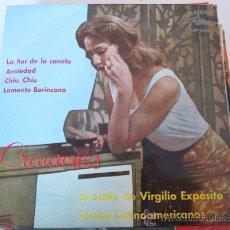 Discos de vinilo: VIRGILIO EXPOSITO EP CUBALIBRE ED.ESPAÑOLA. Lote 34509324