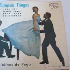 Discos de vinilo: FAMOSOS TANGOS EP CUBALIBRE ED.ESPAÑOLA. Lote 34509374