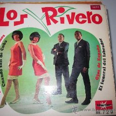 Discos de vinilo: LOS RIVERO EP YE-YE MARFER. Lote 34509465