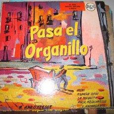 Discos de vinilo: A.APRUZZESSE - PASA EL ORGANILLO EP. Lote 34509601