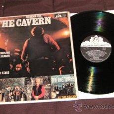 Discos de vinilo: LP EN DIRECTO CAVERN BEATLES LIVERPOOL SOUND BEAT EDITADO POR MILES U.K 1985 . Lote 34510177