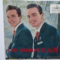Discos de vinilo: LOS HERMANOS KALIN NO ME OLVIDES( FORGET ME NOT)+3 SPANISH EP 1959. W/TRICENTRE. EX-/EX-. Lote 34590245