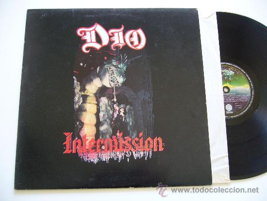 DIO. INTERMISSION. POLYGRAM IBERICA 1988. EDICIÓN ESPAÑOLA (Música - Discos - LP Vinilo - Heavy - Metal)