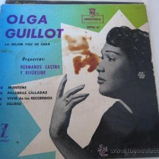 Discos de vinilo: OLGA GUILLOT -MIENTEME ZAFIRO. Lote 34522839