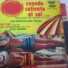 Discos de vinilo: LOS MARCELOS FERIAL- NINI ROSSO EP COMPARDTIDO FRANCIA. Lote 34522949