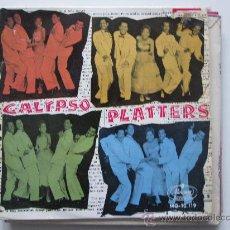 Discos de vinilo: THE PLATTERS-CALYPSO EP. Lote 34523328
