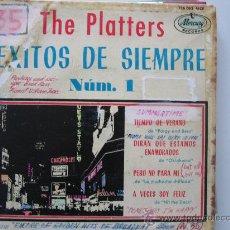 Discos de vinilo: THE PLATTERS-EXITOS DE SIEMPRE VOL.1. Lote 34523354