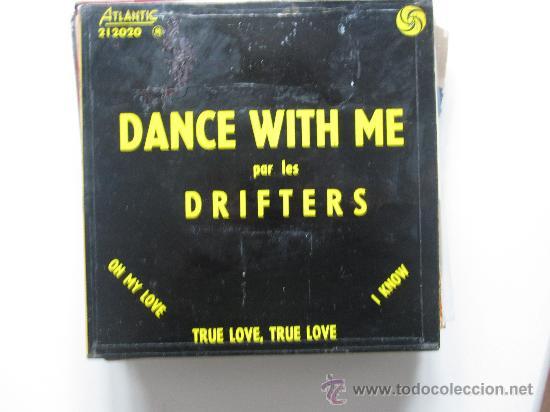 THE DRIFTERS - DANCE WITH ME EP FRANCIA EARLY SOUL (Música - Discos de Vinilo - EPs - Funk, Soul y Black Music)