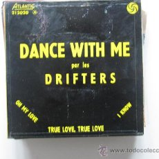 Discos de vinilo: THE DRIFTERS - DANCE WITH ME EP FRANCIA EARLY SOUL. Lote 34523494