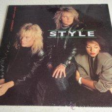 Discos de vinilo - STYLE ( DAYLIGHT ROBBERY ) 1987 - SWEDEN LP33 ALPHA RECORDS - 34532901