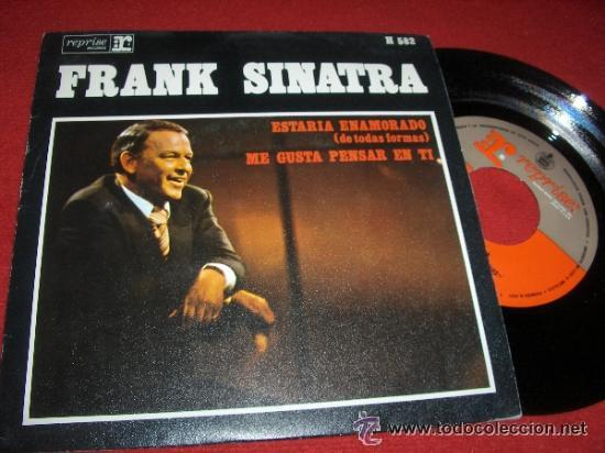 Discos de vinilo: Lote de 3 singles de Frank Sinatra - Foto 3 - 34535492