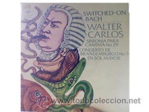 WALTER CARLOS-SWITCHED ON BACH-SINGLE (Música - Discos - Singles Vinilo - Electrónica, Avantgarde y Experimental)