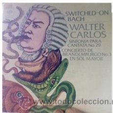 Vinyl records - Walter carlos-switched on Bach-single - 34537966