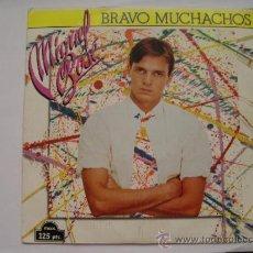 Discos de vinilo: MIGUEL BOSE BRAVO MUCHACHOS SINGLE 45 VINILO 1980 . Lote 34539589
