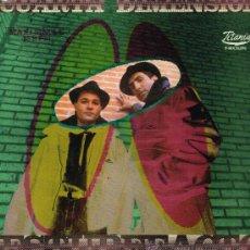 Discos de vinilo: CUARTA DIMENSIÓN - ESTUPEFACTO (2 VERSIONES) - MAXISINGLE 1989. Lote 34540871