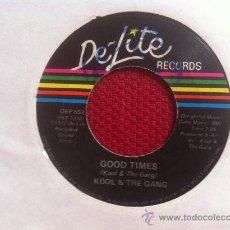 """Discos de vinilo: 7"""" SINGLE-KOOL & THE GANG-GOOD TIMES. Lote 34540893"""