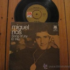 Discos de vinilo: MIGUEL RIOS `SONG OF JOY` 1970. Lote 34541978