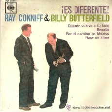 Discos de vinilo: RAY CONNIFF & BILLY BUTTERFIELD ¡ ES DIFERENTE ! . Lote 34543187