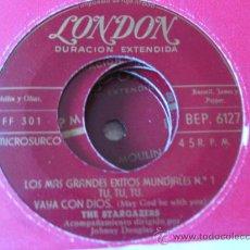 Discos de vinilo: THE STARGAZERS EP LONDON BEP 6127 ED.ESPAÑOLA 50'S. Lote 34557033