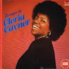 Discos de vinilo: GLORIA GAYNOR - LO MEJOR DE GLORIA GAYNOR - LP 1990. Lote 34565432