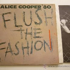 Discos de vinilo - Alice Cooper. LP Flush the fashion. Warner bros records 1980. Edición Mexico - 20727885