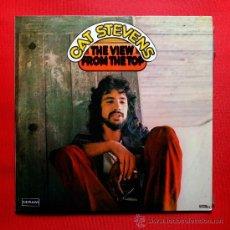 Discos de vinilo: CAT STEVENS THE VIEW FROM THE TOP LP VINILO DOBLE DISCO 1972. Lote 34553910