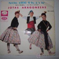 Discos de vinilo: PASCUAL ALBERO - EP JOTAS ARAGONESAS. Lote 34558526