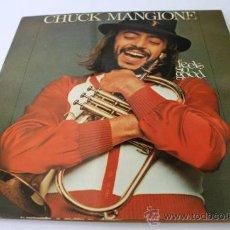 Discos de vinilo: DISCO VINILO DE CHUCK MANGIONE . Lote 34560120