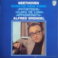 Discos de vinilo: BEETHOVEN: SONATAS PIANO: PATHETIQUE, CLARO DE LUNA,.... ALFRED BRENDEL. PHILIPS 1982. SIN ESCUCHAR. Lote 34561041