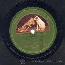 Discos de vinilo: GUERRITA / TARANTAS DE CARTAGENA / FANDANGO DE GUERRITA (GRAMÓFONO AE 1878). Lote 43085542