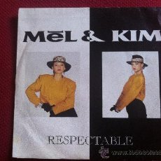 Vinyl records - 7SINGLE - MEL & KIM - RESPECTABLE - 34564636