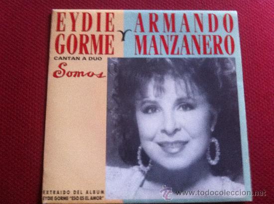 Discos de vinilo: 7SINGLE - EYDIE GORME & ARMANDO MANZANERO - SOMOS(DUO)-PROMO - Foto 1 - 34565278