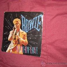 Discos de vinilo: DAVID BOWIE - MODERN LOVE / LIVE - SINGLE EMI 1983 HOL. Lote 34565468