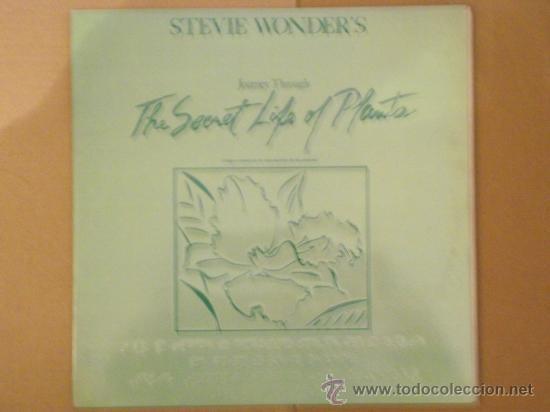 STEVIE WONDER. LA VIDA SECRETA DE LAS PLANTAS. DOBLE VINILO. BRAILLE. (Música - Discos - LP Vinilo - Funk, Soul y Black Music)