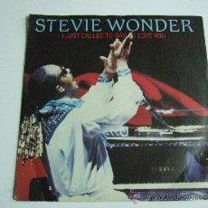 Discos de vinil: STEVIE WONDER - I JUST CALLED TO SAY - I LOVE YOU - SINGLE VINILO - 1984. Lote 34572993