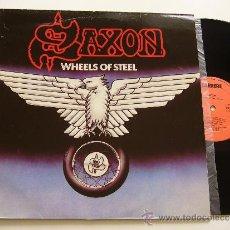 Discos de vinilo: SAXON. LP WHEELS OF STEEL. CARRERE 1980. EDICIÓN ESPAÑOLA. Lote 34575549