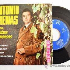Discos de vinilo: ANTONIO ARENAS - CANTA RUMBAS FLAMENCAS… (BELTER EP 1968) ESPAÑA. Lote 34577465