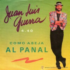 Discos de vinilo: JUAN LUIS GUERRA - SINGLE 7'' - EDITADO EN ALEMANIA - COMO ABEJA AL PANAL + WOMAN DEL CALLAO. Lote 34581601