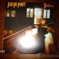 Discos de vinilo: JEAN LUC PONTY - FABLES . Lote 34591524