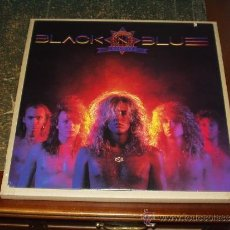 Discos de vinilo: BLACK BLUE LP IN HEAT HEAVY METAL. Lote 34597006