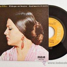Discos de vinilo: MERCEDES CUBERO - EL DIA QUE NOS BESAMOS/AQUEL MANTON DE MANILA ¡¡NUEVO!! (RCA SINGLE 1976) ESPAÑA. Lote 34598545