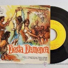 Discos de vinilo: FIESTA FLAMENCA - ENRIQUE MONTOYA/CHATO DE MALAGA ¡¡NUEVO!! (MONTILLA EP 1968) ESPAÑA. Lote 34598967