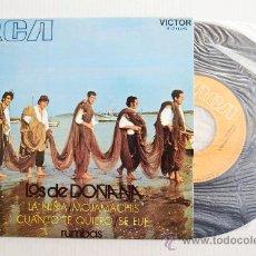 Discos de vinilo: LOS DE DOÑANA - LA NIÑA… ¡¡NUEVO!! (RCA EP 1971) ESPAÑA. Lote 34601250