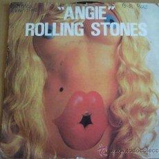 Discos de vinilo: ROLLING STONES ANGIE SINGLE . Lote 34601587