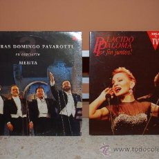 Discos de vinilo: LOTE 2 DISCOS VINILO PLÁCIDO DOMINGO